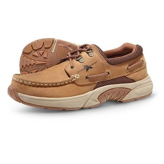 Rugged Shark Men's Atlantic Oxford Boat Shoes