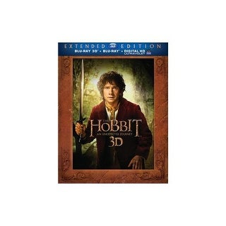 HOBBIT-AN UNEXPECTED JOURNEY (BLU-RAY/2D/3D/UV/5 DISC/EXT ED) (3-D)