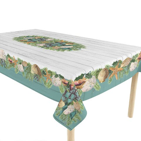 Christmas by The Sea Tablecloth