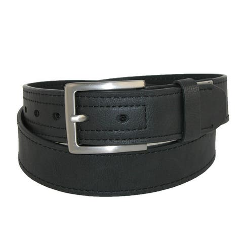 79ff9cf69c54c Dickies Men's Reinforced Leather Industrial Strength 1 1/2 Inch Belt
