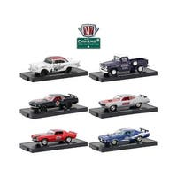 Drivers 6 Cars Set Release 48 In Blister Packs 1/64 Diecast Model Cars by M2 Machines