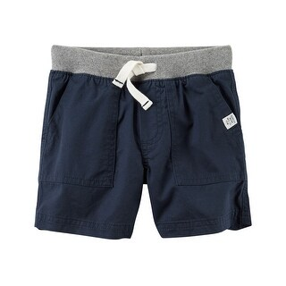Carter's Baby Boys' Pull-On Twill Shorts, 3 Months