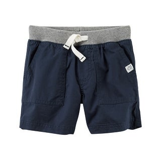 Carter's Little Boys' Pull-On Twill Shorts, 4-Toddler