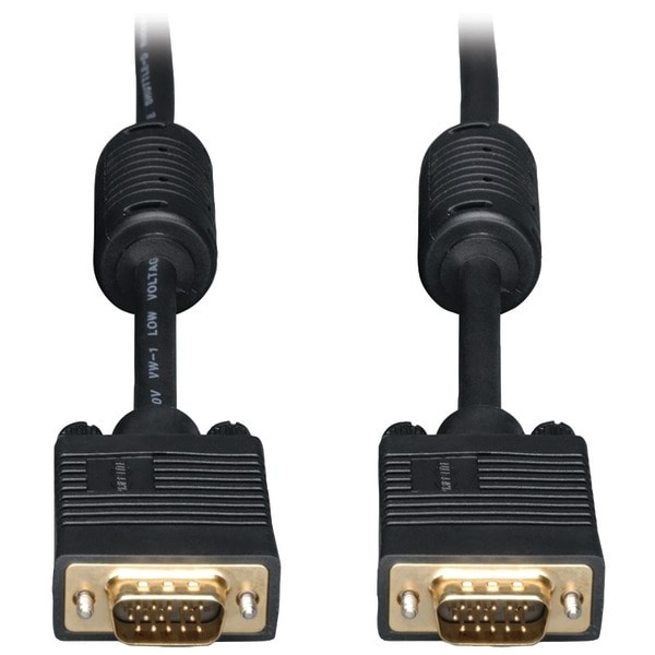 Tripp Lite P502-006 Svga High-Resolution Coaxial Monitor Cable With Rgb Coaxial (6Ft)
