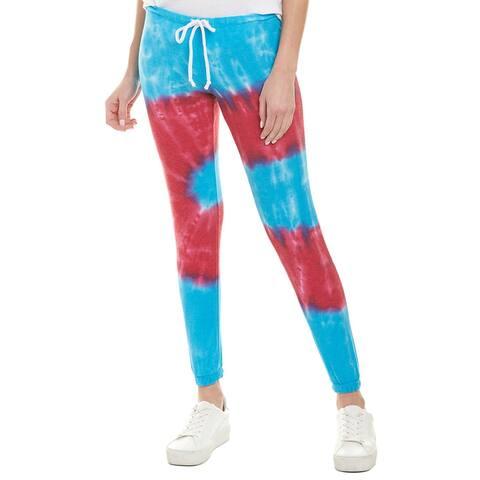 Chaser Cozy Knit Tie Dye Lounge Pant