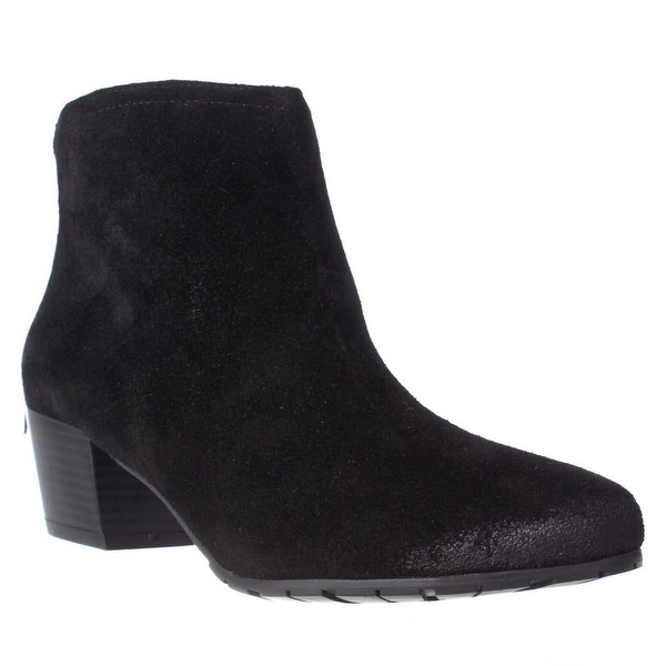 Kenneth Cole REACTION Pil Age Ankle Booties, Black