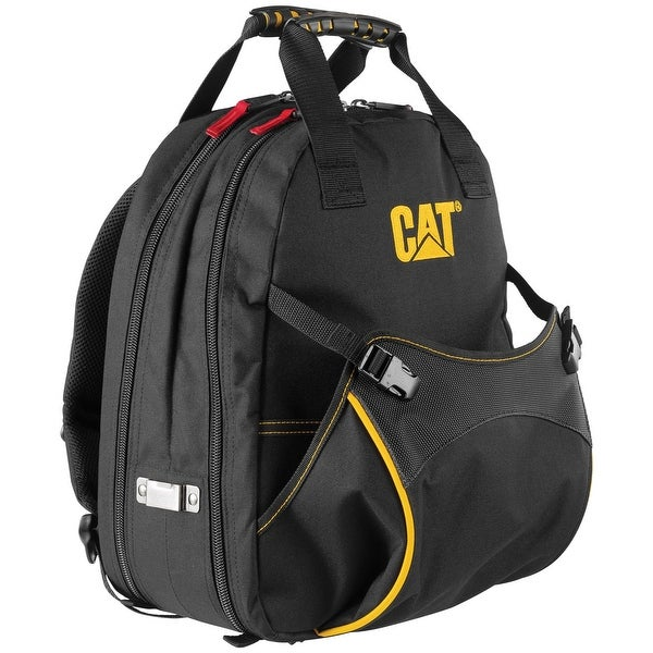 Cat 17 inch Tech Tool Backpack 31 Pockets Heavy Duty 1200D Polyester - 240047