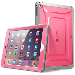 SUPCASE Beetle Defense Series for Apple iPad Mini with Retina Display, Full-body Hybrid Protective Case-Pink/Gray