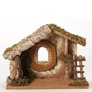 Italian Stable for 5 Inch Nativity