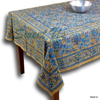 Floral Berry Block Print Table Linen Collection