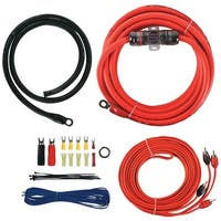 T-Spec V6-Rak4 V6 Series Amp Installation Kit With Rca Cables (4 Gauge)