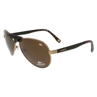 Lacoste L170/SL 757 Rose Gold Vintage Aviator Sunglasses