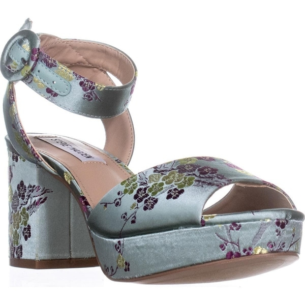 Steve Madden Tickle Two-Piece Platform Sandals, Floral Multi