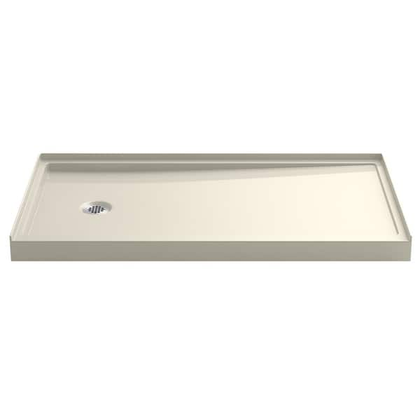 32 X 60 Shower Base.Kohler K 8459 Rely 32 X 60 Shower Base With Single Threshold And Left Drain White N A