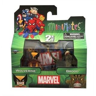 Marvel Minimates Series 47 Figure 2 Pack Wolverine & Brood