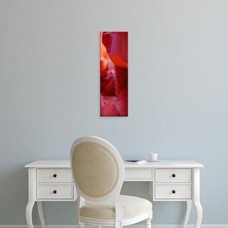 Easy Art Prints Panoramic Images's 'Rock Formations, Arizona, USA' Premium Canvas Art