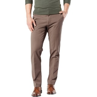 Link to Dockers Mens Workday Straight Fit Khaki Casual Chino Pants Similar Items in Big & Tall