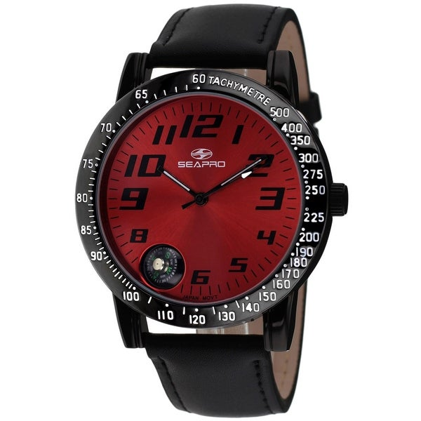 Seapro Men's Raceway Red Dial Watch - SP5111 - One Size. Opens flyout.