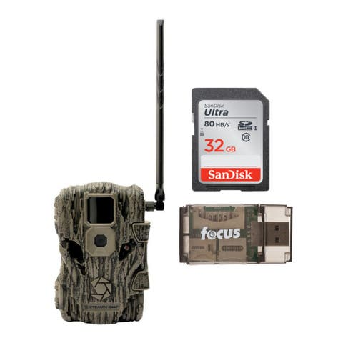 Stealth Cam Fusion 26MP Wireless Trail Camera with 32GB Card & Reader