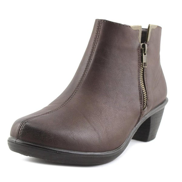 Easy Street Clear Women Brown Boots