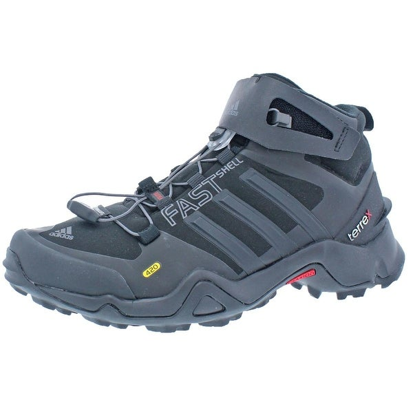 Shop Adidas Mens Terrex Fastshell Mid Hiking Boots Primaloft