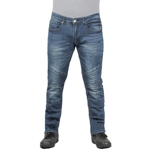 Raw X Young Men's Stretch Moto Jean