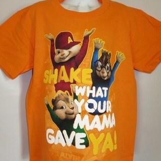Alvin And The Chipmunks Shake What Your Momma.. Kids Medium M (5-6) Shirt