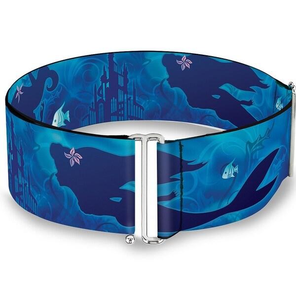 Ariel Silhouette Poses Castle Blues Cinch Waist Belt ONE SIZE