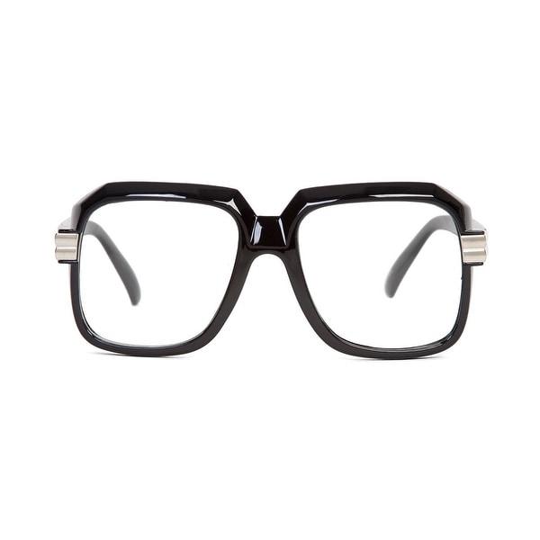 85b36818c60 Shop Hip Hop Rapper Retro Large Clear Lens Eye Glasses