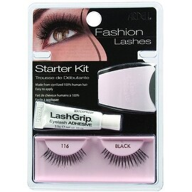 Ardell Fashion Lashes Starter Kit, Black [116] 1 ea