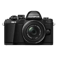 Olympus OM-D E-M10 Mark II Mirrorless Digital Camera w/ 14-42mm EZ Lens (Black)