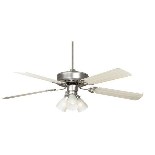 """Concord 52HA5E Home Air 52"""" 5 Blade Indoor Ceiling Fan with Light Kit, Downrod, and Blades Included"""