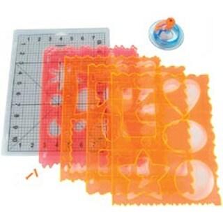 Frames; Bubbles; Flowers & Shapes - Ultra Shapexpress Starter Set #1 Fiskars