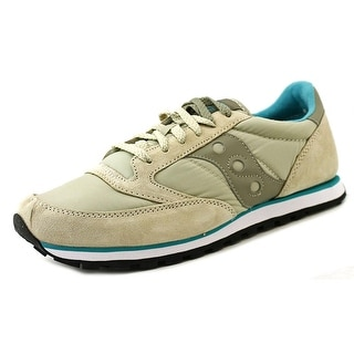 Saucony Jazz Lowpro Men Round Toe Suede Tan Sneakers