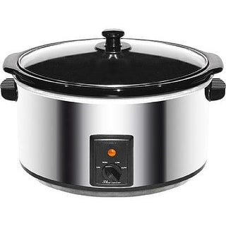Brentwood Appliances Sc-170S Stainless Steel 8 Quart Slow Cooker, Silver