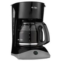Mr. Coffee SK13 Coffeemaker, 12-Cup, Black
