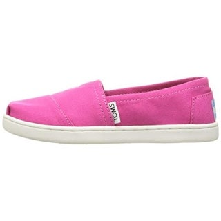 Toms Girls Classic Canvas Loafers - 12.5 medium (b,m)