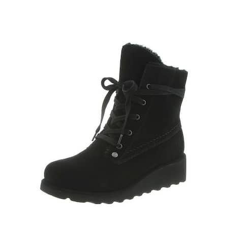 """Bearpaw Casual Boots Womens Krista 5 1/2"""" Lace Up Detail"""