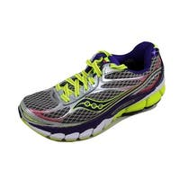 Saucony Women's Ride 7 Silver/Purple-Citron S10241-2 Size 5