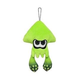 Nintendo 9-inch Splatoon Green Squid Plush Toy