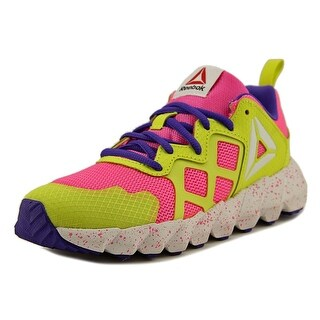 Reebok Exocage Boy Rose/Yellow/Purple Athletic Shoes