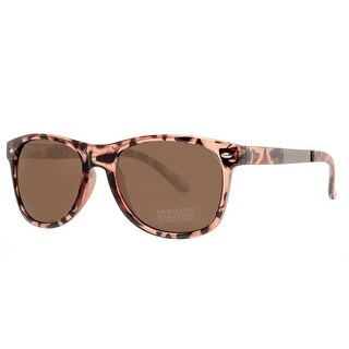 Kenneth Cole Reaction KC1259 52X Women's Tortoise Light Brown Square Sunglasses - 55mm-18mm-145mm