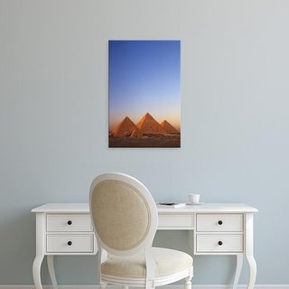 Easy Art Prints Kenneth Garrett's 'The Pyramids At Giza' Premium Canvas Art