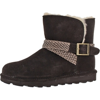 Bearpaw Women's Brienne Ankle Sheepskin Winter Boots