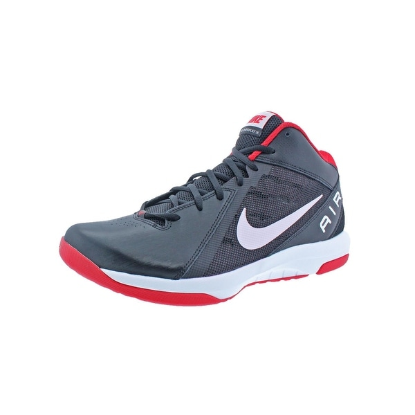 72585f236867 Nike Mens The Air Overplay IX Basketball Shoes Mid Breathable - 10.5 medium  (d)