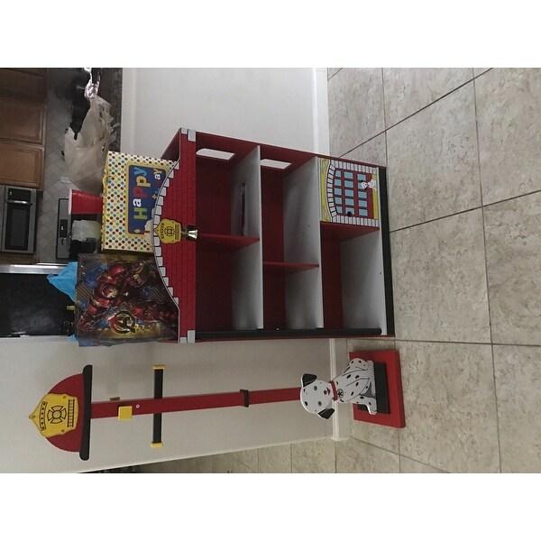 Shop KidKraft Firehouse Bookcase
