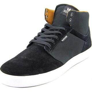 Supra Yorek High Men Round Toe Suede Sneakers