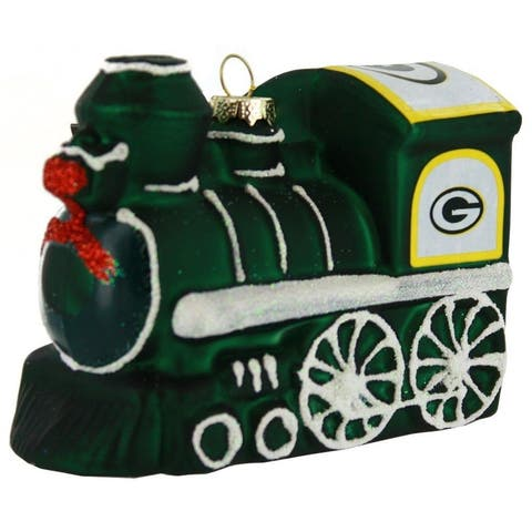 Green Bay Packers Train Ornament