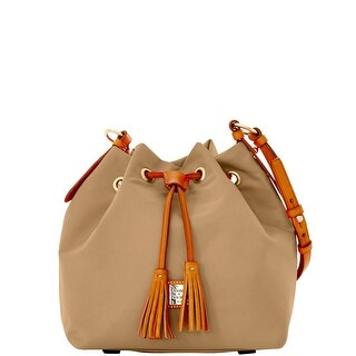 Dooney & Bourke Windham Small Kade Drawstring (Introduced by Dooney & Bourke at $198 in Jan 2016) - Beige