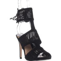 Call It Spring Forcey Ankle-Cuff Dress Sandals, Black